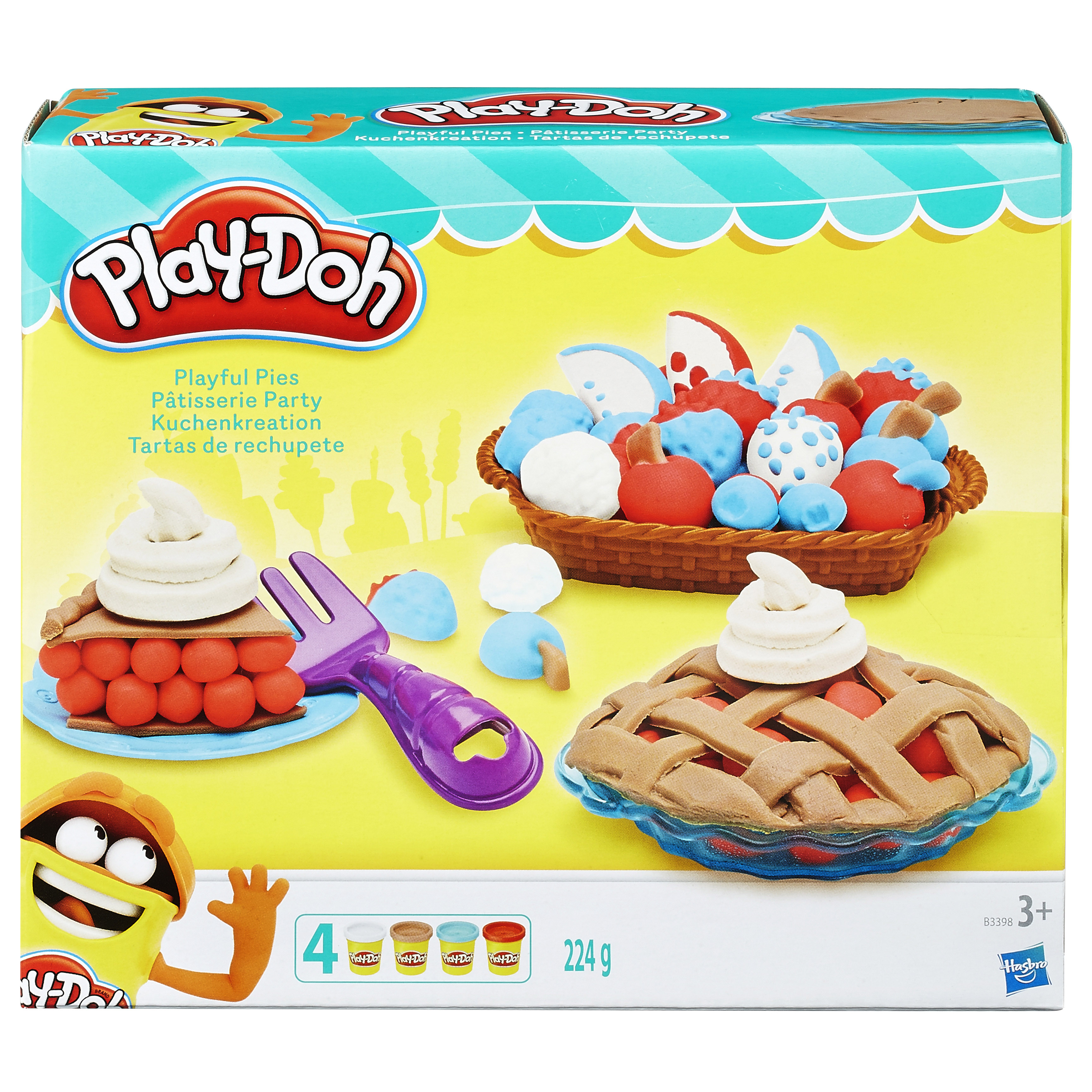 Play-Doh Playful Pies Play Set NEW
