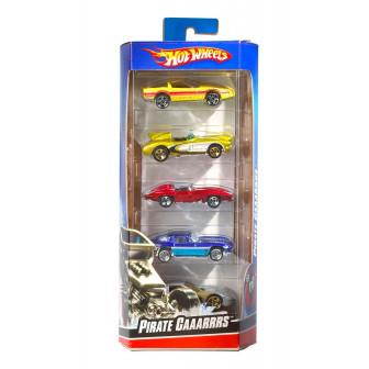 Hot Wheels Basic Car 5 Pack Asst