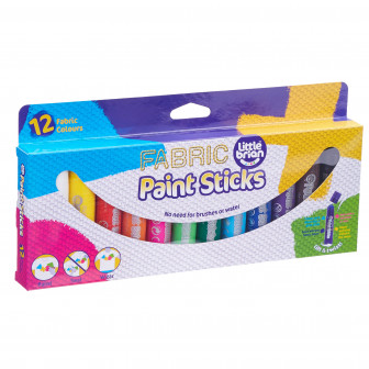 Paint Sticks Fabric - 12 Assorted