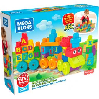 Mega Bloks ABC Learning Train 60 Pieces