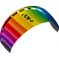 HQ Symphony Beach III 1.8 Rainbow Ready 2 Fly 2 line Sport Kite