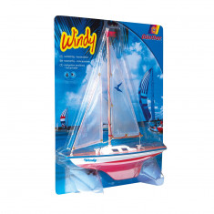 Windy Sailing Boat