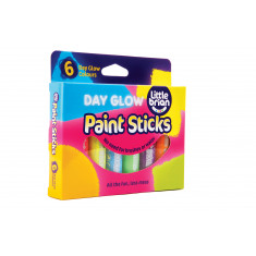 Paint Sticks Dayglo Colours - 6 assorted