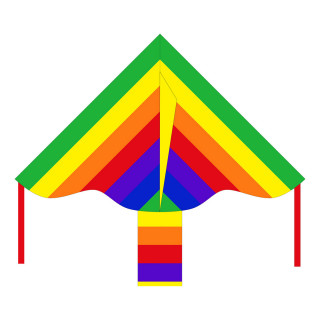 Simple Flyer Rainbow Kite 85 cm
