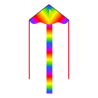 Simple Flyer Radiant Rainbow Kite