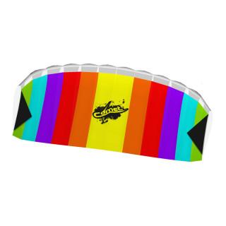 Stunt Foil Comet Rainbow Kite R2F