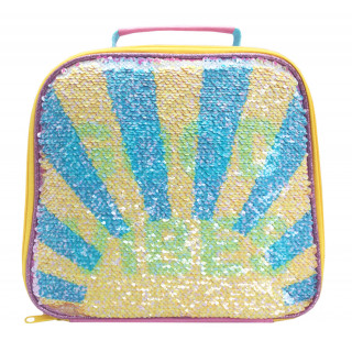 Polar Gear Good Vibes Sequin Lunch Bag