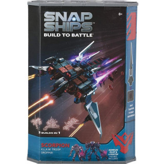 Snap Ships Scorpion K.L.A.W. Troop Dropper