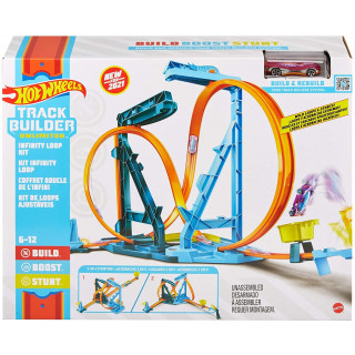 Hot Wheels Track Builder Unlimited Infinity Loop Playset