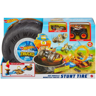 Hot Wheels Monster Trucks Stunt Tire Play Set