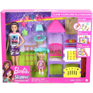 Barbie Skipper Babysitters Climb n Explore Playground