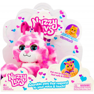 Nuzzy Luvs Interactive Pet Soft Toy