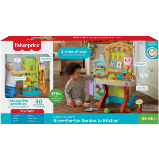 Fisher-Price Laugh and Learn Grow-the-Fun Garden to Kitchen
