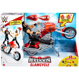 WWE Wrekkin Slamcycle Vehicle