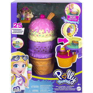 Polly Pocket Spin 'n Surprise Playground