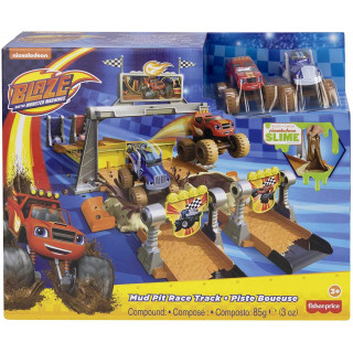 Fisher-Price Nickelodeon Blaze and the Monster Machines Mud Pit Race Track