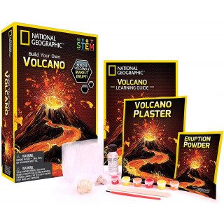 National Geographic Build Your Own Volcano Kit