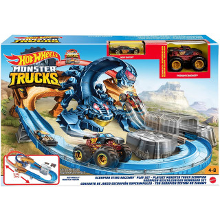 Hot Wheels Monster Truck Scorpion Sting Raceway