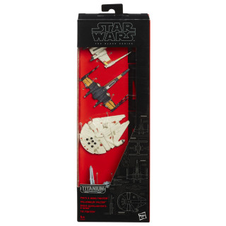 Star Wars Episode 7 Black Series Die Cast Multi Pack