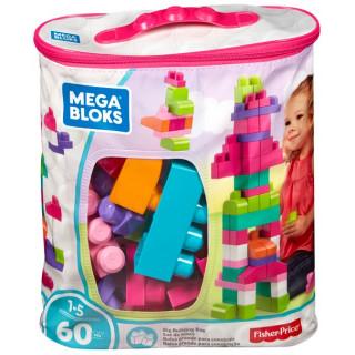 Mega Bloks 60 pcs Bag Pink