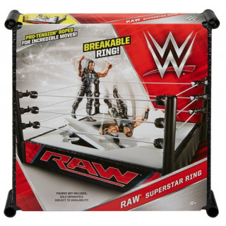 WWE Smackdown Live / Royal Rumble Superstar Wrestling Ring-Raw
