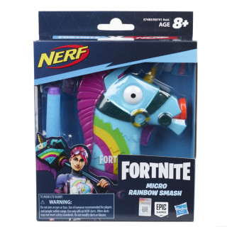 Nerf Micro Shots Fortnite Rainbow Smash Blaster