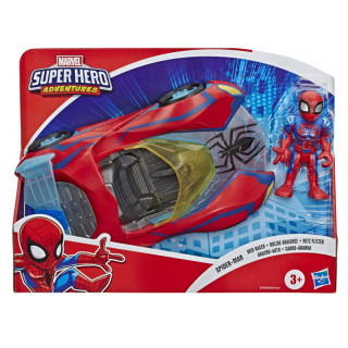 Playskool Heroes Marvel Super Hero Adventures Figure and Vehicle