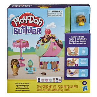 Play-Doh Builder Ice Cream Stand Kit