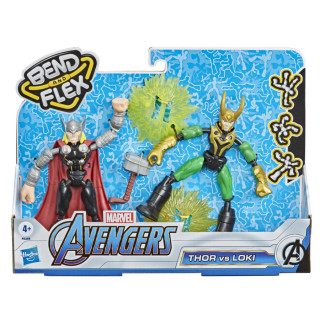 Marvel Avengers Bend and Flex Thor Vs. Loki
