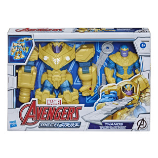Avengers Mech Strike Thanos Infinity Suit And Blade Weapon