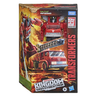 Transformers Generations War for Cybertron: Kingdom Voyager WFC-K19 Inferno