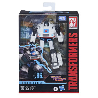 Transformers Studio Series 86-01 Deluxe The Transformers: The Movie Autobot Jazz