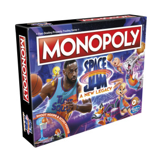 Monopoly Space Jam A New Legacy Edition Family Board Game