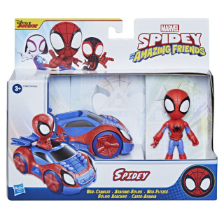 Spidey and His Amazing Friends Vehicle & Figure