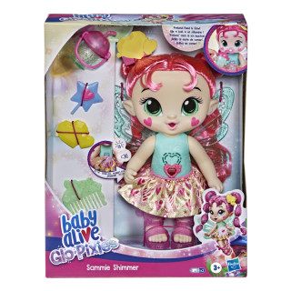 Baby Alive Glo Pixies Doll, Sammie Shimmer