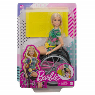 Barbie Wheelchair Doll Blonde