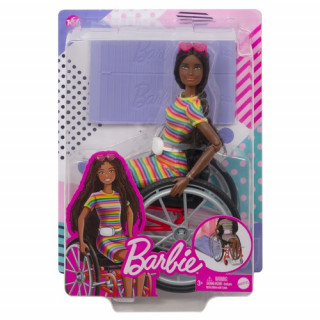 Barbie Wheelchair Doll Brunette