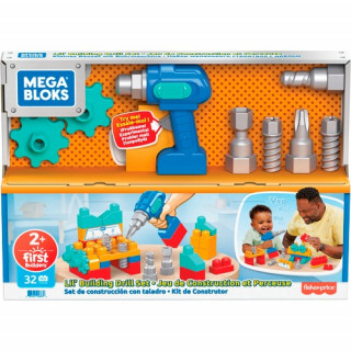 Mega Bloks  Lil' Building Drill Set