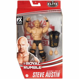 WWE Stone Cold Steve Austin Royal Rumble Elite Collection Action Figure