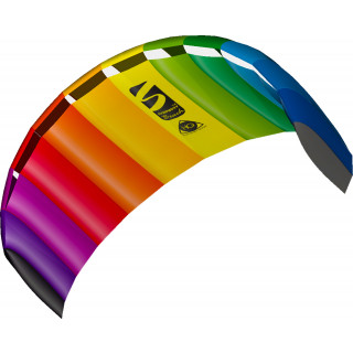 HQ Symphony Beach III 1.8 Rainbow Ready 2 Fly 2 line Sport Kite
