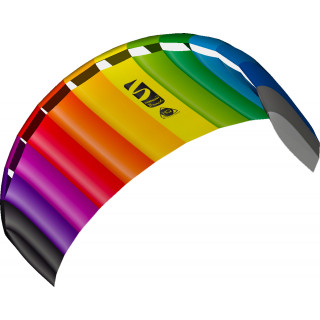 HQ Symphony Beach III 2.2 Rainbow Ready 2 Fly 2 line Sport Kite