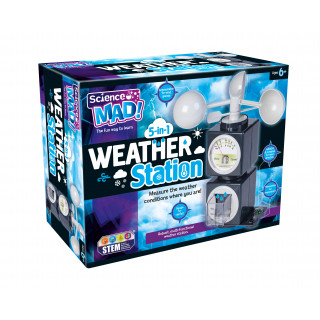 Science Mad 5-in-1 Weather Station