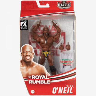 WWE Titus O'Neil Royal Rumble Elite Collection Action Figure