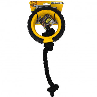 Tonka Dog Toy Mega Tread Rope Tug 6inch