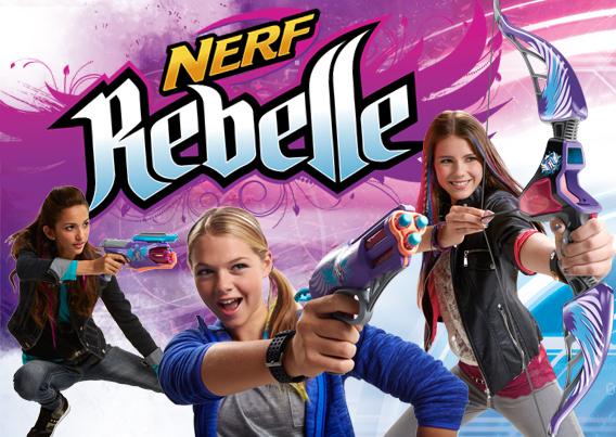 Nerf Rebelle